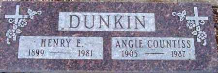 DUNKIN, HENRY E. - Maricopa County, Arizona | HENRY E. DUNKIN - Arizona Gravestone Photos