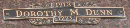 DUNN, DOROTHY M - Maricopa County, Arizona   DOROTHY M DUNN - Arizona Gravestone Photos