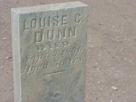 DUNN, LOUISE C - Maricopa County, Arizona   LOUISE C DUNN - Arizona Gravestone Photos