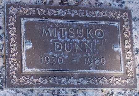 DUNN, MITSUKO - Maricopa County, Arizona | MITSUKO DUNN - Arizona Gravestone Photos
