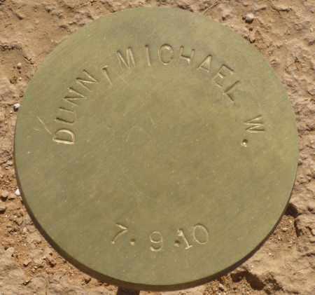 DUNN, MICHAEL W. - Maricopa County, Arizona   MICHAEL W. DUNN - Arizona Gravestone Photos