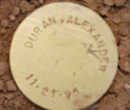DURAN, ALEXANDER - Maricopa County, Arizona | ALEXANDER DURAN - Arizona Gravestone Photos