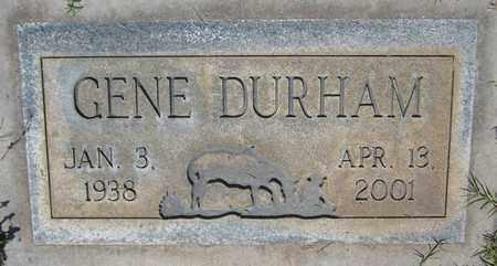 DURHAM, GENE - Maricopa County, Arizona | GENE DURHAM - Arizona Gravestone Photos