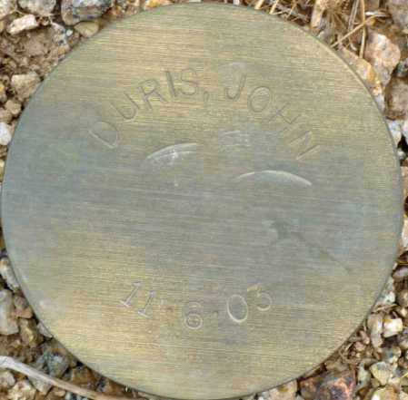 DURIS, JOHN - Maricopa County, Arizona | JOHN DURIS - Arizona Gravestone Photos