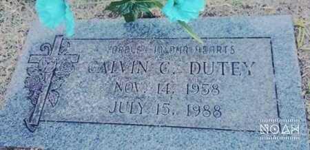 DUTEY, CALVIN C - Maricopa County, Arizona   CALVIN C DUTEY - Arizona Gravestone Photos