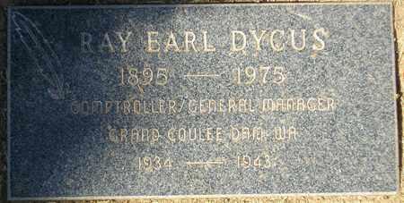 DYCUS, RAY EARL - Maricopa County, Arizona | RAY EARL DYCUS - Arizona Gravestone Photos