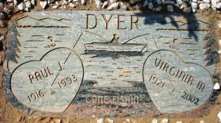 DYER, VIRGINIA M. - Maricopa County, Arizona | VIRGINIA M. DYER - Arizona Gravestone Photos