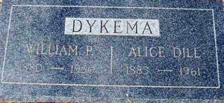 DILL DYKEMA, ALICE - Maricopa County, Arizona | ALICE DILL DYKEMA - Arizona Gravestone Photos