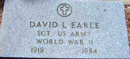 EARLE, DAVID L. - Maricopa County, Arizona | DAVID L. EARLE - Arizona Gravestone Photos