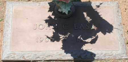 EAST, JOHN C. - Maricopa County, Arizona | JOHN C. EAST - Arizona Gravestone Photos