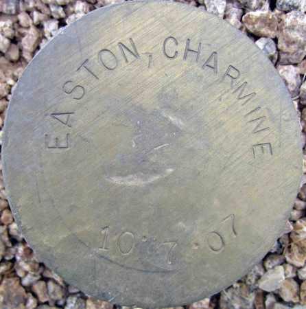 EASTON, CHARMINE - Maricopa County, Arizona   CHARMINE EASTON - Arizona Gravestone Photos