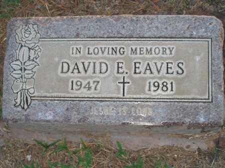 EAVES, DAVID - Maricopa County, Arizona | DAVID EAVES - Arizona Gravestone Photos