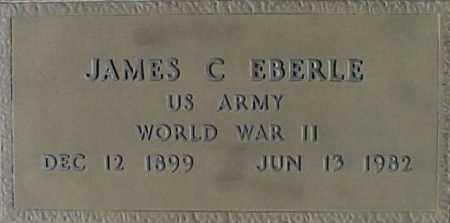 EBERLE, JAMES C - Maricopa County, Arizona | JAMES C EBERLE - Arizona Gravestone Photos