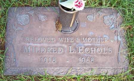ECHOLS, MILDRED L. - Maricopa County, Arizona | MILDRED L. ECHOLS - Arizona Gravestone Photos