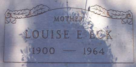 ECK, LOUISE E. - Maricopa County, Arizona | LOUISE E. ECK - Arizona Gravestone Photos