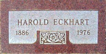 ECKHART, HAROLD - Maricopa County, Arizona | HAROLD ECKHART - Arizona Gravestone Photos