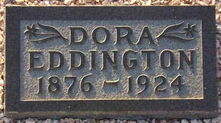 EDDINGTON, DORA - Maricopa County, Arizona | DORA EDDINGTON - Arizona Gravestone Photos