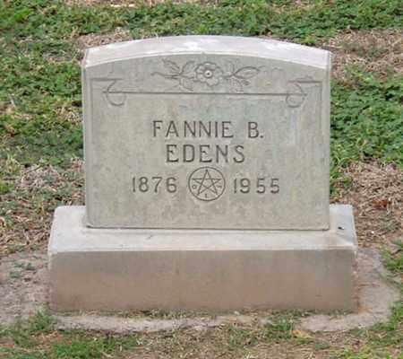 JOHNSON EDENS, FANNIE BELL - Maricopa County, Arizona   FANNIE BELL JOHNSON EDENS - Arizona Gravestone Photos