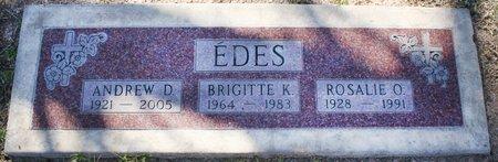 EDES, ANDREW D - Maricopa County, Arizona | ANDREW D EDES - Arizona Gravestone Photos
