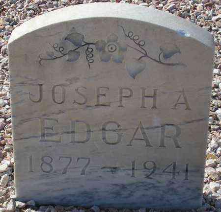 EDGAR, JOSEPH A. - Maricopa County, Arizona | JOSEPH A. EDGAR - Arizona Gravestone Photos