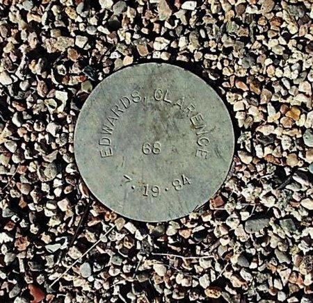 EDWARDS, CLARENCE - Maricopa County, Arizona | CLARENCE EDWARDS - Arizona Gravestone Photos