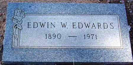EDWARDS, EDWIN W. - Maricopa County, Arizona | EDWIN W. EDWARDS - Arizona Gravestone Photos