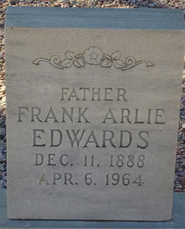 EDWARDS, FRANK ARLIE - Maricopa County, Arizona | FRANK ARLIE EDWARDS - Arizona Gravestone Photos