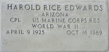 EDWARDS, HAROLD RICE - Maricopa County, Arizona | HAROLD RICE EDWARDS - Arizona Gravestone Photos