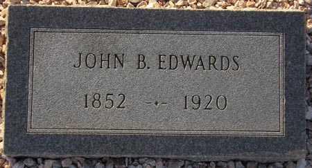 EDWARDS, JOHN B. - Maricopa County, Arizona   JOHN B. EDWARDS - Arizona Gravestone Photos