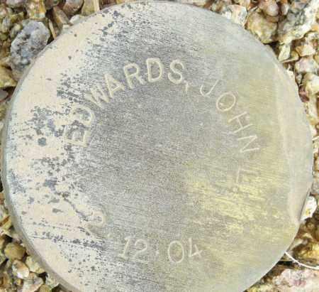 EDWARDS, JOHN L. - Maricopa County, Arizona | JOHN L. EDWARDS - Arizona Gravestone Photos