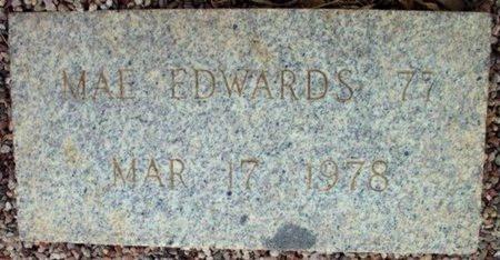 EDWARDS, MAE - Maricopa County, Arizona   MAE EDWARDS - Arizona Gravestone Photos
