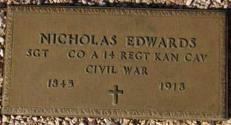 EDWARDS, NICHOLAS - Maricopa County, Arizona | NICHOLAS EDWARDS - Arizona Gravestone Photos