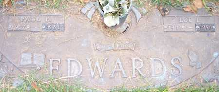 EDWARDS, LOU I. - Maricopa County, Arizona | LOU I. EDWARDS - Arizona Gravestone Photos