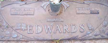 EDWARDS, MILDRED A. - Maricopa County, Arizona   MILDRED A. EDWARDS - Arizona Gravestone Photos