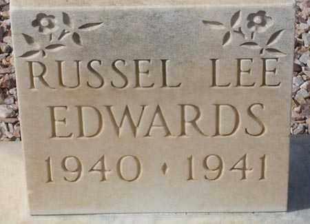 EDWARDS, RUSSEL LEE - Maricopa County, Arizona   RUSSEL LEE EDWARDS - Arizona Gravestone Photos