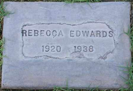 EDWARDS, REBECCA - Maricopa County, Arizona | REBECCA EDWARDS - Arizona Gravestone Photos