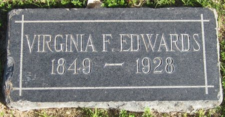 EDWARDS, VIRGINIA F. - Maricopa County, Arizona | VIRGINIA F. EDWARDS - Arizona Gravestone Photos
