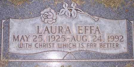 EFFA, LAURA - Maricopa County, Arizona | LAURA EFFA - Arizona Gravestone Photos