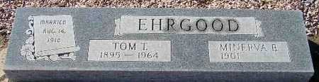 EHRGOOD, MINERVA B. - Maricopa County, Arizona | MINERVA B. EHRGOOD - Arizona Gravestone Photos