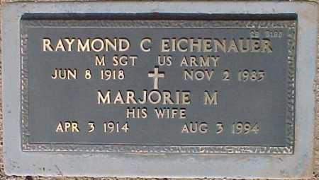 EICHENAUER, MARJORIE M. - Maricopa County, Arizona | MARJORIE M. EICHENAUER - Arizona Gravestone Photos