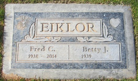 EIKLOR, FRED C - Maricopa County, Arizona | FRED C EIKLOR - Arizona Gravestone Photos