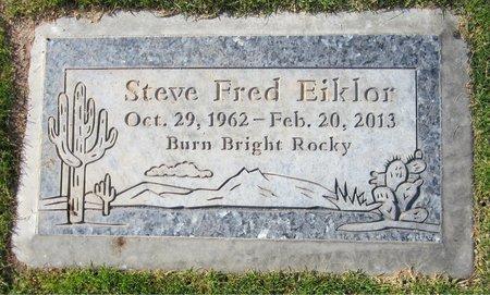 EIKLOR, STEVE FRED - Maricopa County, Arizona | STEVE FRED EIKLOR - Arizona Gravestone Photos