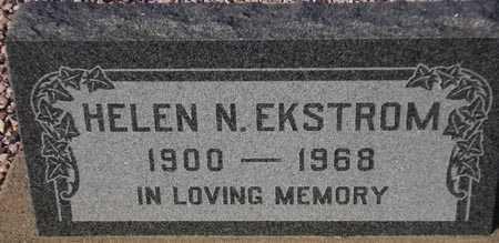 EKSTROM, HELEN N. - Maricopa County, Arizona | HELEN N. EKSTROM - Arizona Gravestone Photos