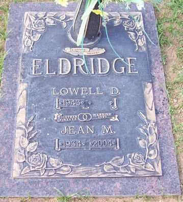 ELDRIDGE, LOWELL D. - Maricopa County, Arizona | LOWELL D. ELDRIDGE - Arizona Gravestone Photos
