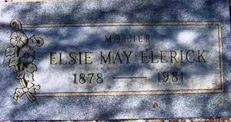 ELERICK, ELSIE MAY - Maricopa County, Arizona   ELSIE MAY ELERICK - Arizona Gravestone Photos