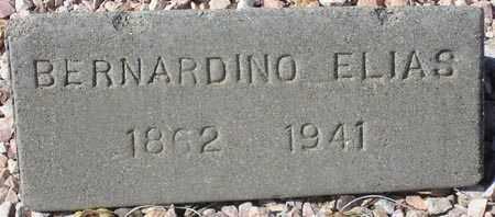 ELIAS, BERNARDINO - Maricopa County, Arizona   BERNARDINO ELIAS - Arizona Gravestone Photos