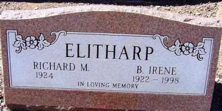 ELITHARP, B. IRENE - Maricopa County, Arizona | B. IRENE ELITHARP - Arizona Gravestone Photos