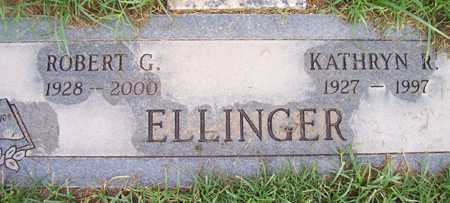 ELLINGER, KATHRYN R. - Maricopa County, Arizona | KATHRYN R. ELLINGER - Arizona Gravestone Photos