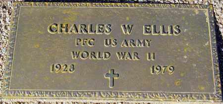 ELLIS, CHARLES W. - Maricopa County, Arizona | CHARLES W. ELLIS - Arizona Gravestone Photos