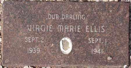 ELLIS, VIRGIE MARIE - Maricopa County, Arizona | VIRGIE MARIE ELLIS - Arizona Gravestone Photos
